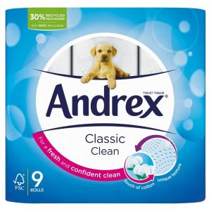 Andrex Classic Clean Toilet Roll PM £4.75