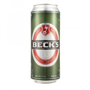 Becks German Pilsner Beer Cans