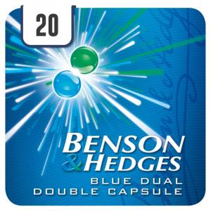 Benson & Hedges Blue Dual Double King Size