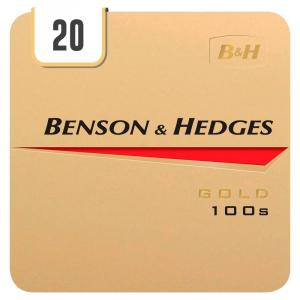 Benson & Hedges Gold 100s - Half Outer