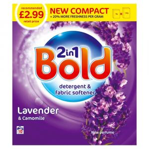 Bold 2in1 Lavender & Camomile Washing Powder PM £2.99