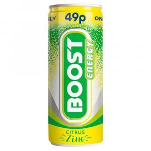 Boost Energy Citrus Zing PM 49p
