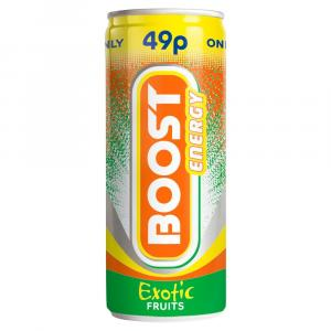 Boost Energy Exotic Fruits PM 49p