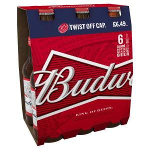Budweiser PM 6 for £6