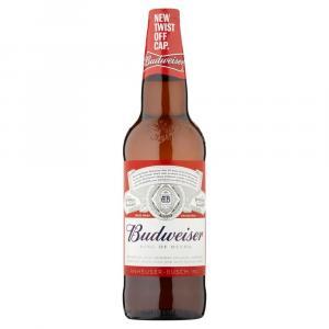 Budweiser Lager Beer Bottle