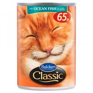 Butchers Classic Cans Ocean Fish in Jelly PM 65p