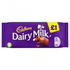 Cadbury Dairy Milk Bar PM £1