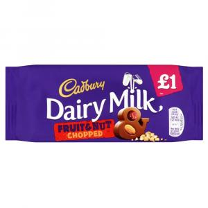 Cadbury Dairy Milk Fruit & Nut Bar PM £1