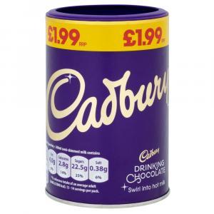 Cadbury Drinking Chocolate (Add Milk) PM £1.99