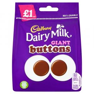 Cadbury Dairy Milk Giant Buttons PM £1