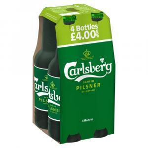 Carlsberg Pilsner PM 4 For £4