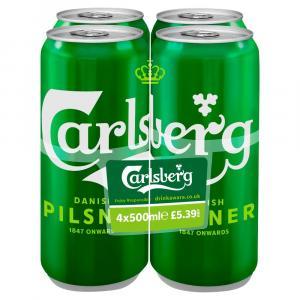 Carlsberg Pilsner PM 4 For £5.39