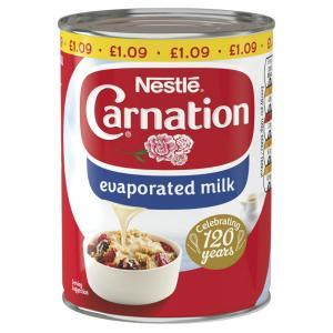 Carnation Evaporated Milk PM £1.09