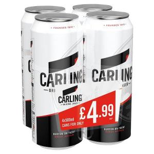 Carling PM 4 for £4.75