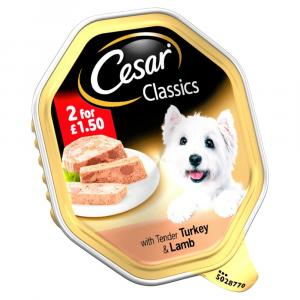 Cesar Tray Turkey & Lamb in Loaf 2 For £1.50