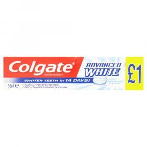 Colgate Toothpaste Advanced White PM £1