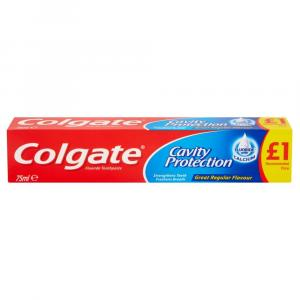 Colgate Toothpaste Cavity Protection PM £1