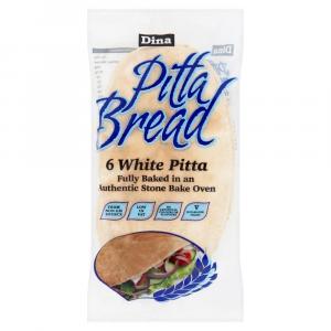 Dina White Pitta Bread