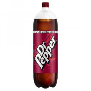 Dr Pepper PM £1.85 / 2 for £2.89