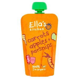 Ella's Stage 1 Carrot,Apple & Parsnip