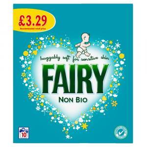 Fairy Washing Powder Non Bio PM £3.29