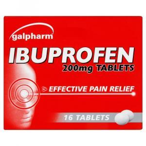 Galpharm Ibuprofen Tablets 200mg