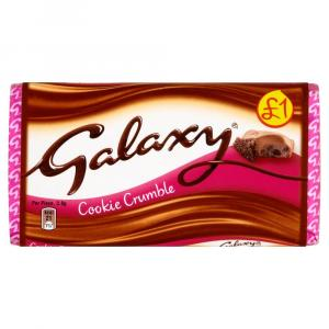 Galaxy Cookie Crumble PM £1