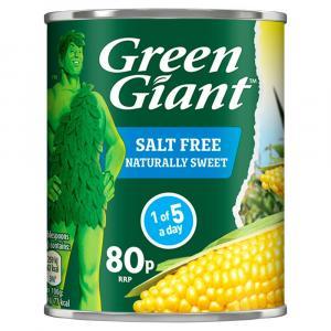 Green Giant Salt Free Corn PM 80p