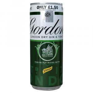 Gordons Gin & Tonic PM £1.50