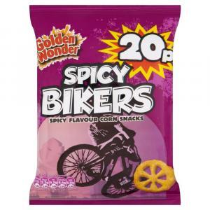 Golden Wonder Spicy Bikers PM 30p / 2 FOR 50p