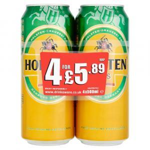 Holsten Pils PM 4 for £5.89