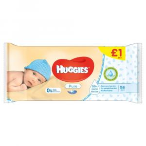 Huggies Wipes PM £1