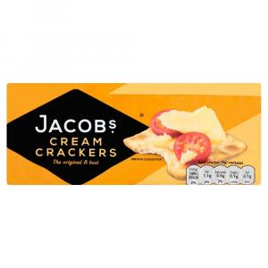 Jacobs Cream Crackers PM £1