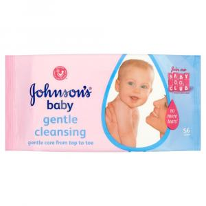 Johnsons Baby Wipes Gentle Clean