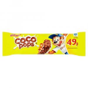 Kelloggs Coco Pops Cereal & Milk Bar PM 49p