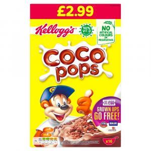 Kelloggs Coco Pops PM £2.99
