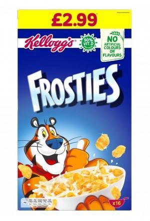 Kelloggs Frosties PM £2.99