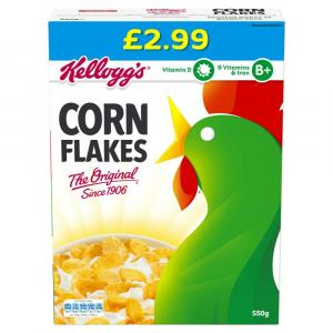 Kelloggs Corn Flakes PM £2.99