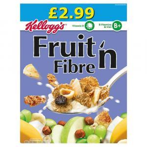 Kelloggs Fruit n Fibre PM £2.99