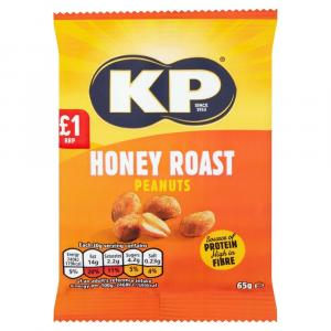 KP Honey Roasted Peanuts PM £1