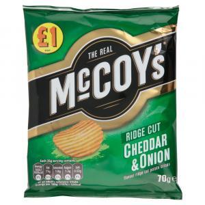McCoys Cheddar & Onion PM £1