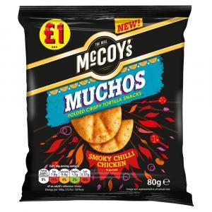 McCoys Muchos Smoky Chilli Chicken PM £1