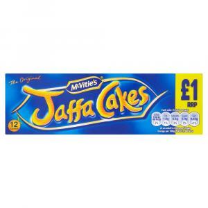McVities Jaffa Cakes PM £1