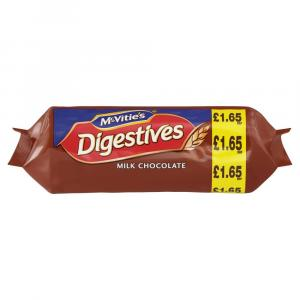McVities Digestives Milk Chocolate PM £1.65