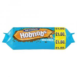 McVities Hobnobs Milk Chocolate PM £1.50