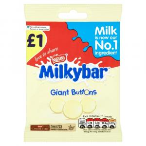 Milkybar Giant Buttons Bag PM £1