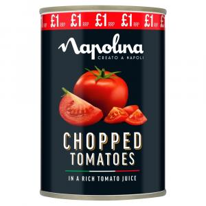Napolina Chopped Tomatoes PM £1