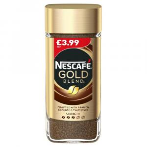 Nescafe Gold Blend PM £3.99