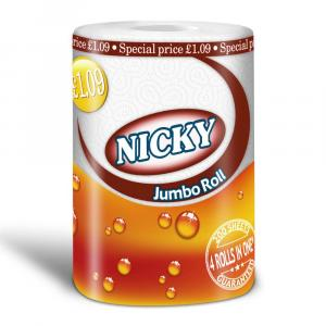 Nicky Jumbo Kitchen Towel PM £1.09