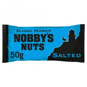 Nobbys Nuts Salted Peanuts Card